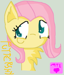 Fluttershy In My MLP Version by MeylinTheHedgehog