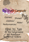 The Starlit Carnevale Poster 2 by Mayli-Song