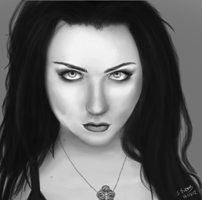 Amy Lee - Evanescence by steffne