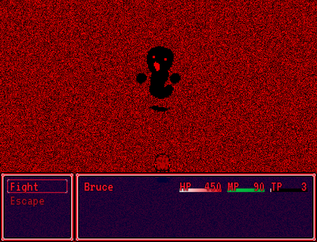 Curse of The Unknown - Battle Screenshot by Creepypasta81691