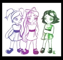 The powerpuff girls by Mab87