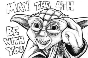 May the Fourth be with you all! by The-Great-Geraldo