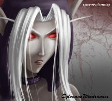 Sylvanas by Omen-of-SilverWing