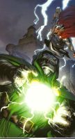Thor versus Doom! by YAYProductions