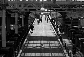 Waverley Station by mosherte