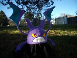 Crobat Hat by fireflytwinkletoes