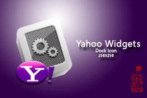 Yahoo Widgets Dock Icon by BloodyMoogle