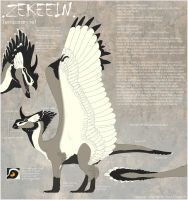 Zekeein temporary ref by DoruDrutt