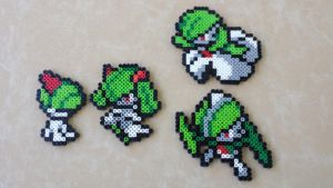 Ralts Family - PB Sprite Set by MaddogsCreations