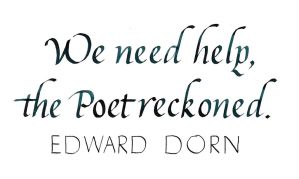 Edward Dorn - We Need Help by MShades