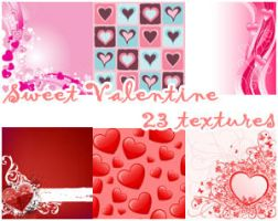 Sweet Valetine Textures by Keoni-chan