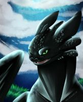Toothless by Nami-v