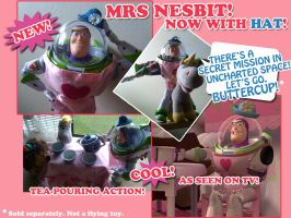 The NEW Mrs Nesbit by JessieHeart