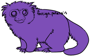 Pygmy Monkey Lines by foreign-potato