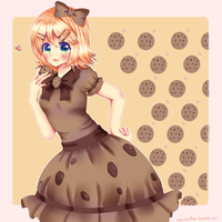 Draw this again: Cookie Rinny by Luumies