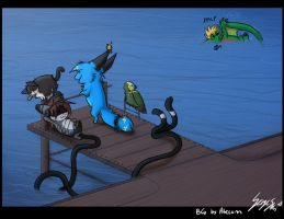 Favours At The Docks by Serge-Stiles