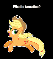 What in tarnation? by mellzmew