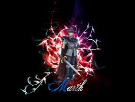 Marth Wallpaper by gangsterg