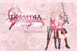 Dissidia 012 Lightning by the-sparkling-light