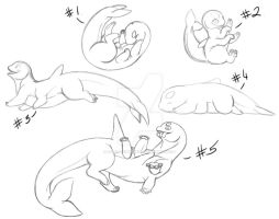 Orcabeast YCHs! -OPEN- by DracoFeathers