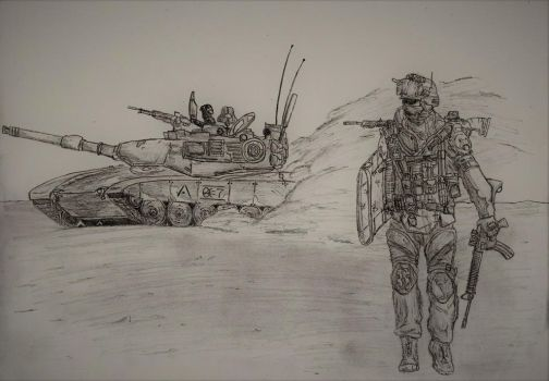 Infantry by TheUnknownPlanet