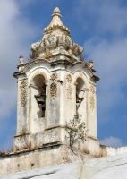 bell tower in Tavira, Portugal by Shreever