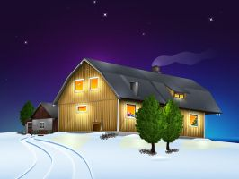 Xmas Wallpaper '09 by Flarup