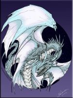 Ice Dragon colors by BDixonarts