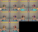 BrutalAce's SFV Cammy Recolors by agad117
