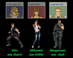 Elevator Action Returns with DOA Characters by AVGNJr1985