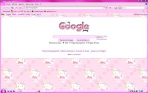 My Hello Kitty Google by LadyPinkilicious