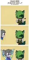 Comic 002 :: A helping hand ..? by Videogamescool