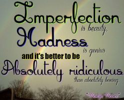 Imperfection quote by Darkened-94-Child