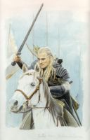 The Lord Of The Rings - Legolas by Catinomis