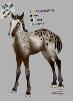 500 See ya Later, Alligator - Foal Design by iluvhorses99