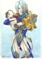 Ivy from Soul Calibur V by Dxtrn