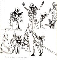 Jack and Sally's reactions to the human world_2 by HollyBecker