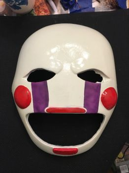 Marionette Mask by BuckarooProps