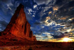 Moab Sunrise by NickBaker1689