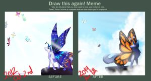 .:Draw This Again Meme:. by xShiro-no-Musumex
