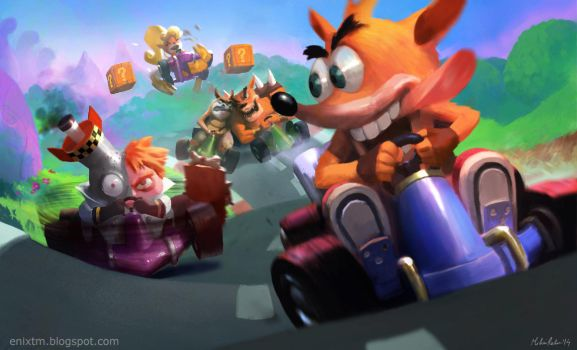 Crash Team Racing by MihaiRadu