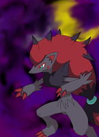 Zoroark by Destiny-The-Hedgimon