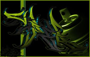 Viper Digital Graffiti Piece 6 by Viper818