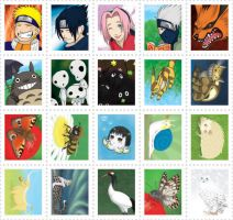 Anipop Stamps by Birvan