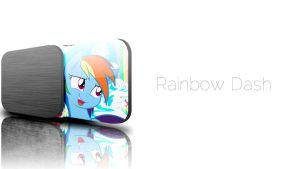 JD Rainbow Dash Wallpaper by InternationalTCK