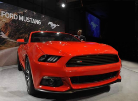 2015 Ford Mustang rendering by CynderxNero