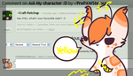 :Ask my Character#1: by PrePAWSterous
