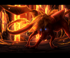 Flame's wrath by Mearow