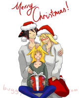 + Merry Christmas + by prince-buggy