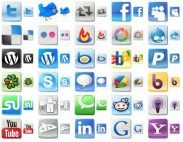 Free Social Media Icons by richardkingempire